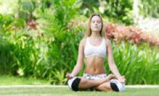 Асаны йоги перед сном