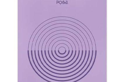 Коврик для йоги POSA NonSlip Pro Aura Purple