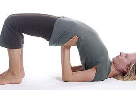 Поза Построения моста в йоге