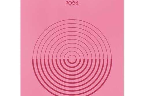 Коврик для йоги POSA NonSlip Pro Aura Rose