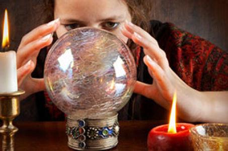 Онлайн гадание «На его мысли ко мне» на хрустальном шаре