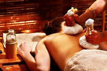 Правильное выполнение аюрведического массажа