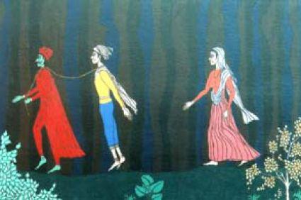 История Савитри или индийская история любви