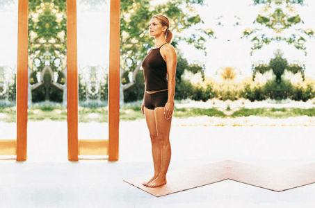 Упражнение тадасана— техника выполнения асаны