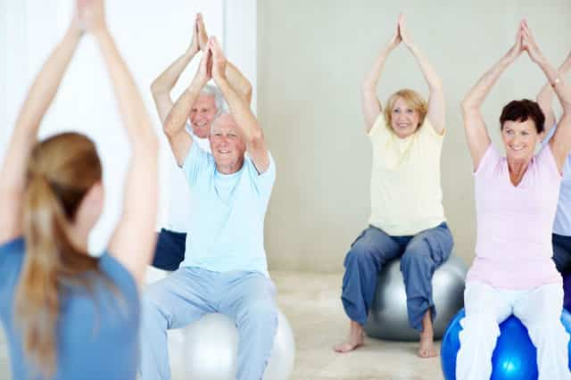 йога для пожилых