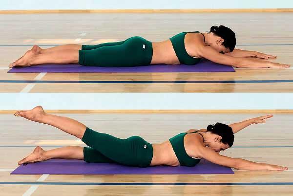 Увеличить грудь помощью йоги
